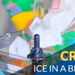 crush ice in blender