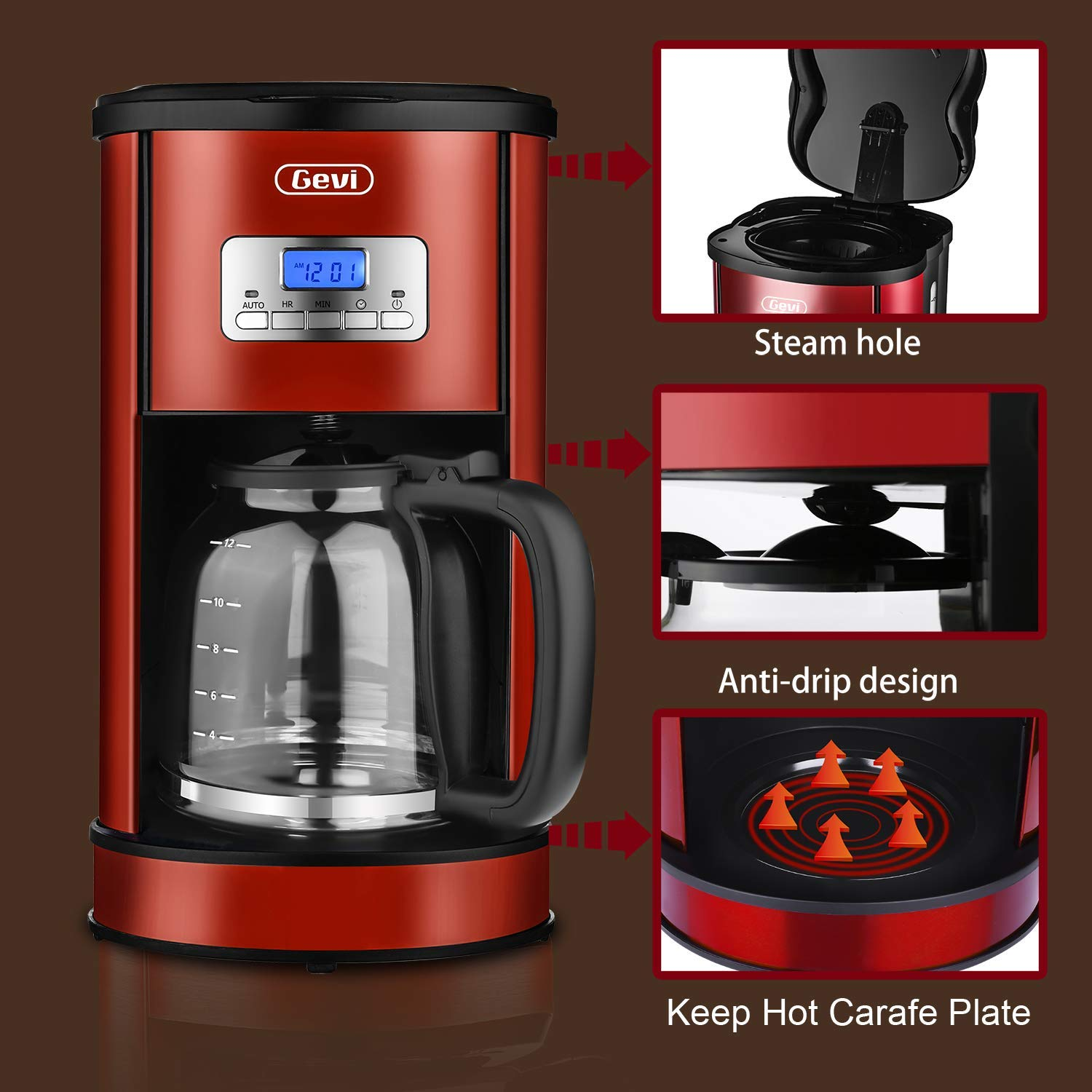Best Coffee Maker Under $100 - Review & Buyer's Guide ...